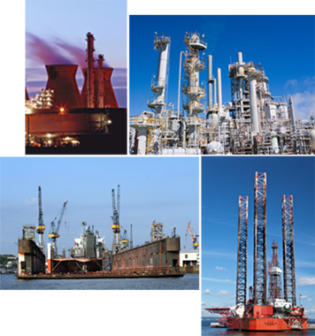 valve manufacturers, marine-maritime, petro-chemical, power production and municipal utilities are types of Industries using Dexter Valve Reseaters